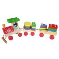 Mainan Kereta Api Geometri