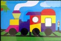 Puzzle Mainan Kereta Api