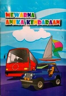 Buku Mewarnai 6 Isi 32 Halaman Harga Rp 5 000 Toko Online Jual
